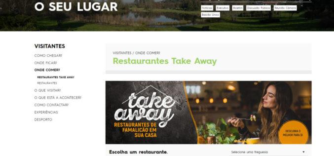 Restauração | Famalicão indica restaurantes com take away e entrega ao domicílio
