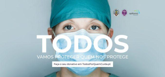 Crowdfunding | 'Todos por Quem Cuida' angariou 640 mil euros na primeira semana para combater Covid-19