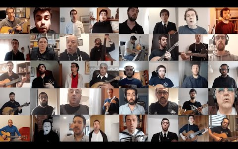 Música   Estudantina de Coimbra lança nova versão de 'À Meia Noite ao Luar'