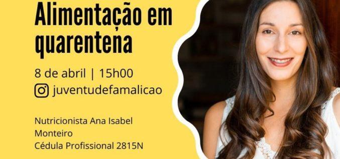 Nutrição | Ana Isabel Monteiro orienta workshop online a partir da Casa da Juventude de Famalicão