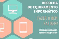 Ensino | Associação de Pais de Pedome e Teach for Portugal recolhem equipamento informático para alunos carenciados