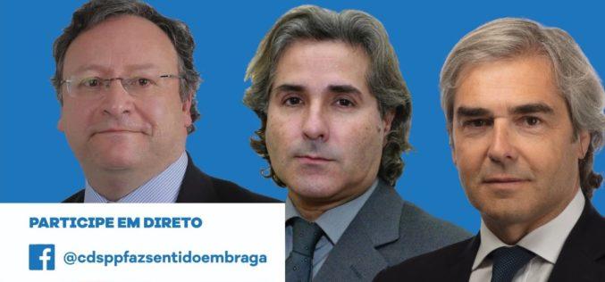 Debate | Nuno Melo, Francisco Assis e Nuno Rogeiro escalpelam relações económicas entre Europa e América e Ásia