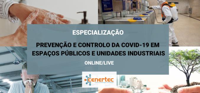 Formação | Cenertec oferece curso de prevenção e controlo da Covid-19 em espaços públicos e unidades industriais
