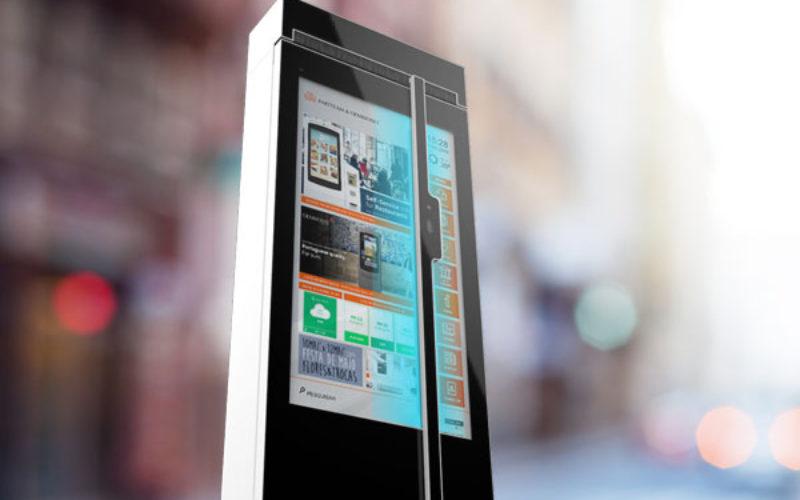 Tecnologia | Partteam & Oemkiosks inova com desinfeção automática através de luz ultravioleta nos Mupis Digitais