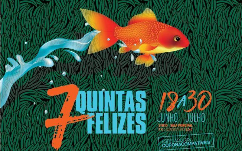 Showbizz | Theatro Circo está de regresso com '7 Quintas Felizes'