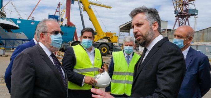 Infraestruturas | Dragagem do acesso aos estaleiros de Viana do Castelo estimula desenvolvimento industrial da região