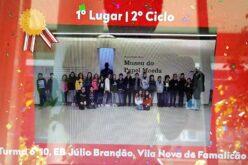 Ensino | Turma 10 do 6º ano da Júlio Brandão brilha no concurso 'No Poupar Está o Ganho'