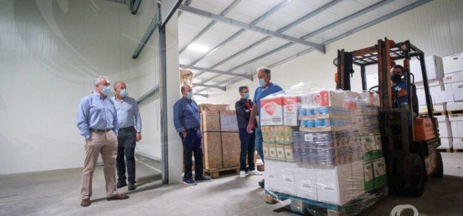 Solidariedade | Cooperativa Agrícola e Leiteira da Póvoa de Varzim oferece alimentos para apoiar famílias carenciadas