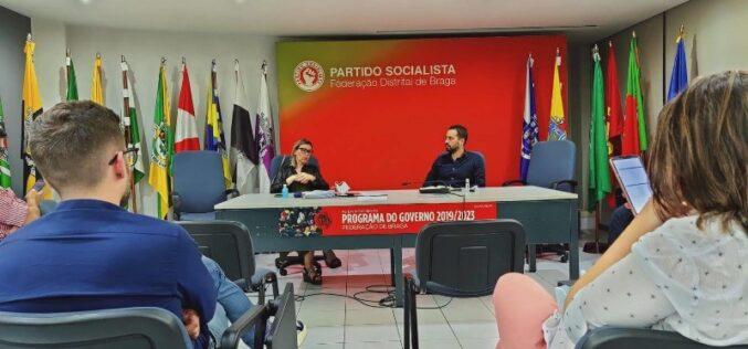 Pandemia | Federação de Braga da Juventude Socialista reúne com com direção do Instituto e Formação Profissional