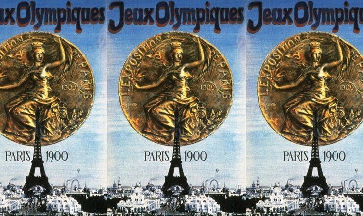 jeux olympiques 1900 paris cartazes na parede 00