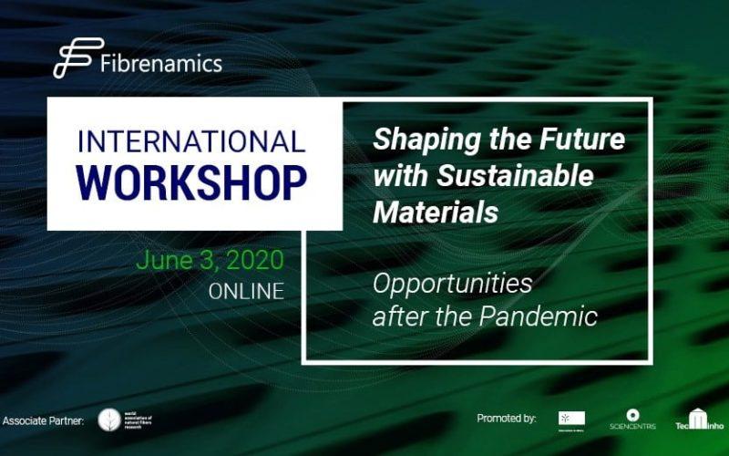 I&D | Dar forma ao futuro com materiais sustentáveis é desafio de conferência digital da Fibrenamics
