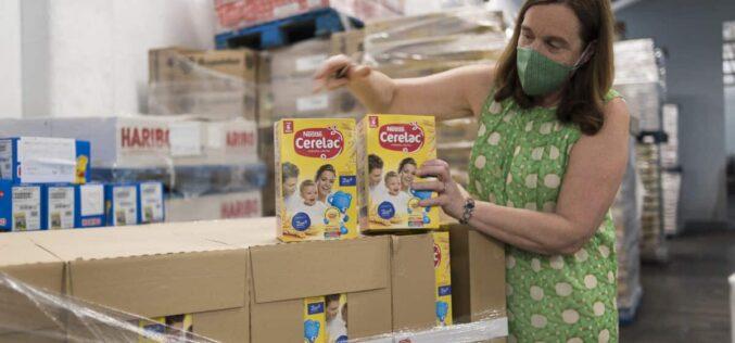 Solidariedade | Banco Alimentar contra a Fome recebe apoio da Nestlé e um grupo de parceiros