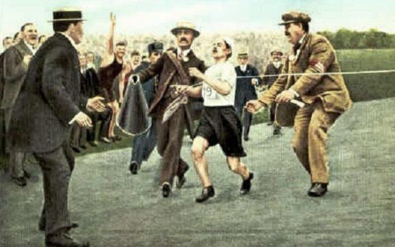 Olimpismo   Dorando Pietri na Maratona dos Jogos Olímpicos de Londres 1908: um pasteleiro com sorte, ou não!