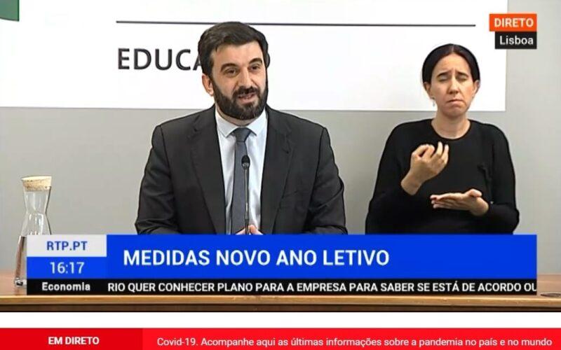 Ensino | Ano letivo 2020-2021 será mais longo e terá regime presencial como regra