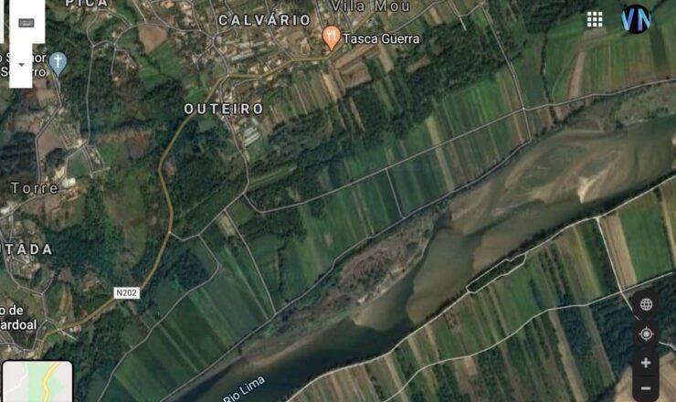 Torre e Vila Mou e Rio Lima 999 by Google ec