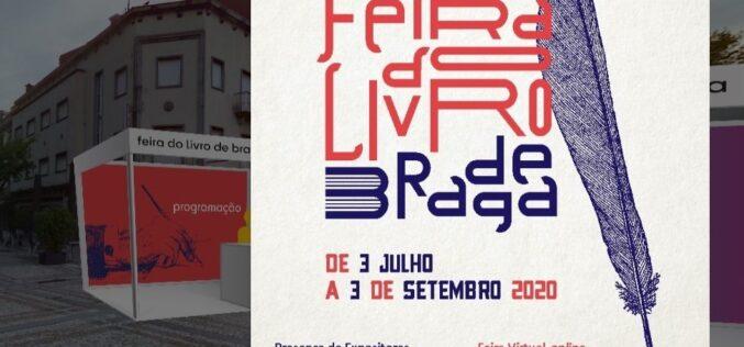 Literatura | Feira do Livro de Braga conta com 20 editoras à distância de um clique