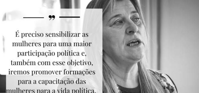 PS | Palmira Maciel reafirma a necessidade de reforçar a participação política das mulheres