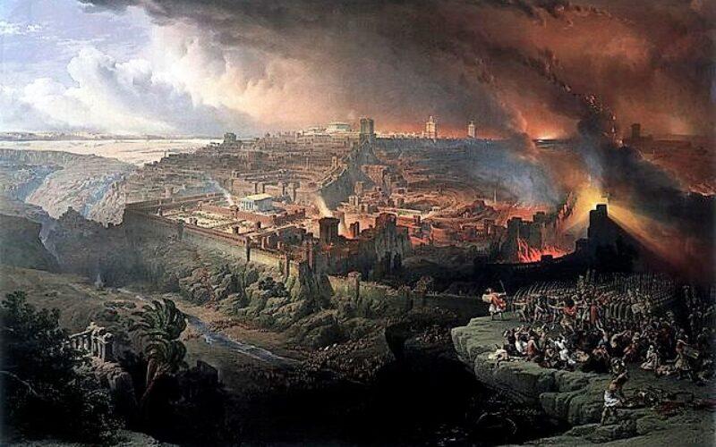 Espiritualidade   A destruição de Jerusalém nos anos 70 e as suas implicações