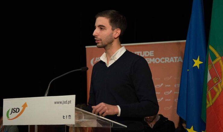 João Freitas Alcaide - Presidente da JSD Braga