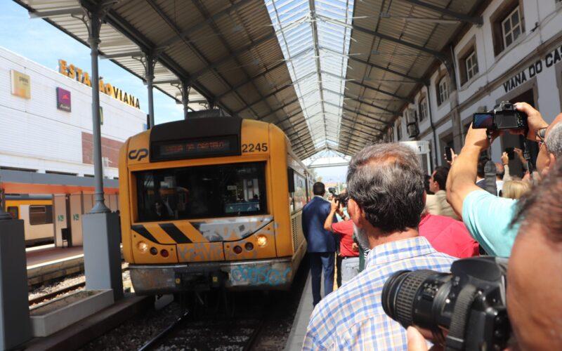 Mobilidade | Regresso do 'Celta' positivo para turismo e empresas de Viana do Castelo
