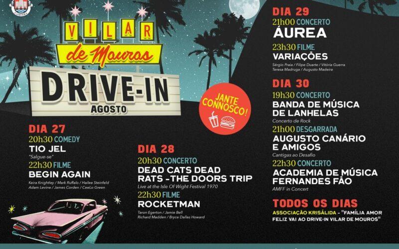 Verão | Drive-in Vilar de Mouros leva até si música, cinema e humor