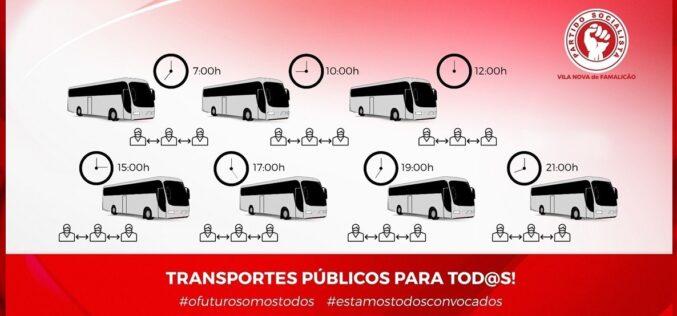 Mobilidade | Serviços essenciais de transporte em Famalicão mantêm-se devido a influência positiva do PS