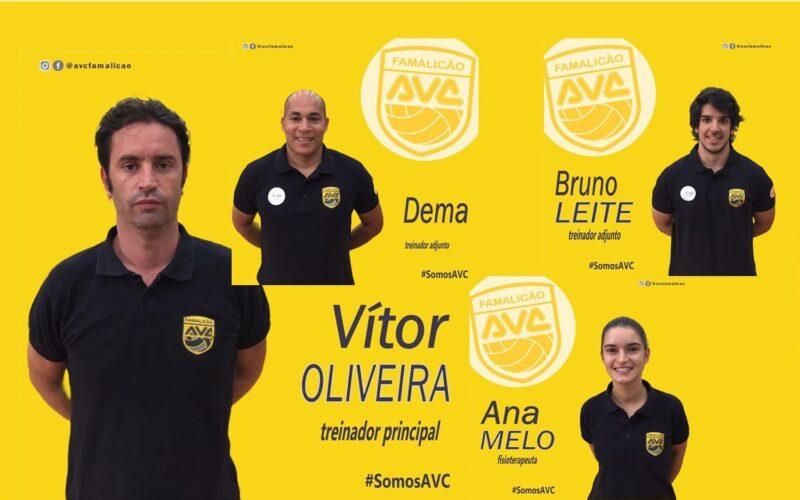 Voleibol | AVC Famalicão renova com equipa técnica de Vítor Oliveira para a época 2020-2021