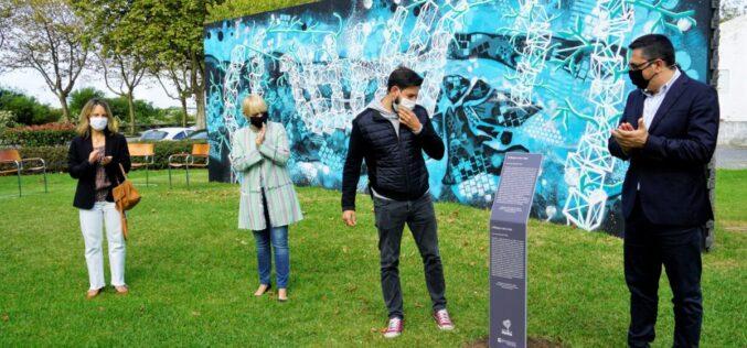 Arte Urbana | Esposende inaugura '(A)braços com o Mar'