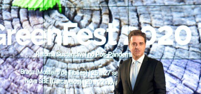 Ambiente | Braga apresenta relatório de sustentabilidade no GreenFest