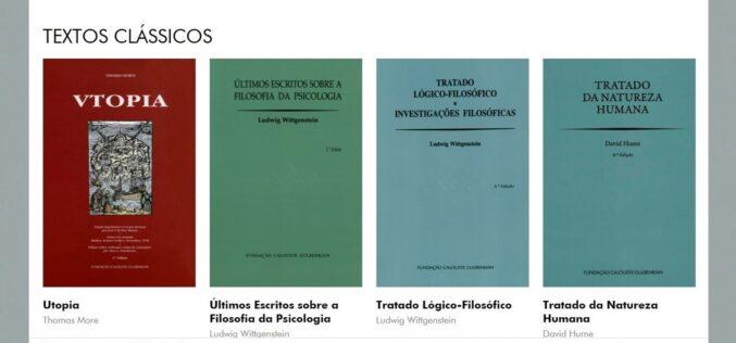 Conhecimento | Gulbenkian disponibiliza online textos clássicos e centenas de edições