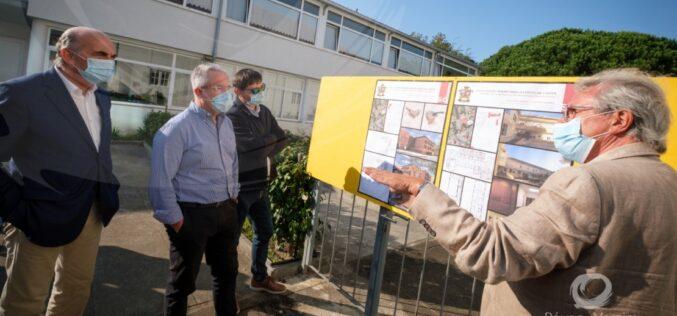 Solidariedade | Município da Póvoa de Varzim visita obras do novo lar de idosos da Santa Casa da Misericórdia