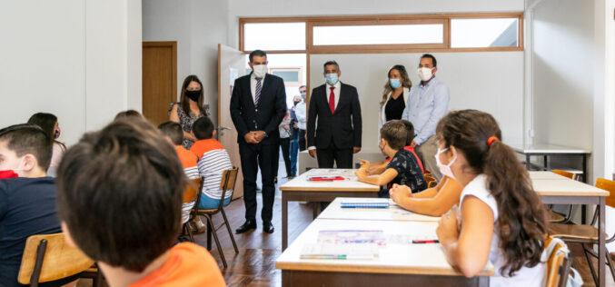 Ensino | Santo Tirso inaugura duas requalificações de estabelecimentos em início de ano letivo