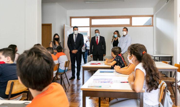 STS Investimento na requalificação da Escola Básica do Ave foi de 1,2 milhões