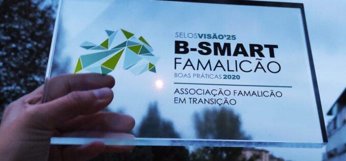 Comunidade   'Eco-Trocas' da Famalicão em Transição recebe Selo B-Smart Famalicão Visão'25