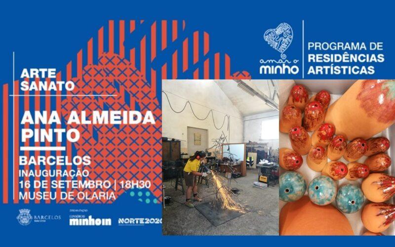 Criatividade | Ana Almeida Pinto expõe em Barcelos no âmbito da iniciativa 'Amar o Minho'