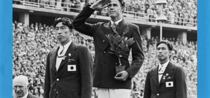 Olimpismo   Japoneses Shuhei Nishida e Sueo Oe atribuem-se 'medalhas da amizade' nos Jogos de 1936 em Berlim