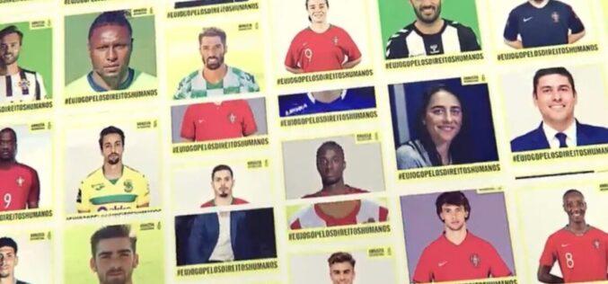 Desporto | Amnistia Internacional convoca craques do futebol e futsal para jogarem pelos Direitos Humanos