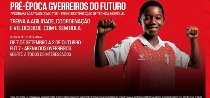 Futebol | SC Braga abre pré-época 'Gverreiros do Futuro'
