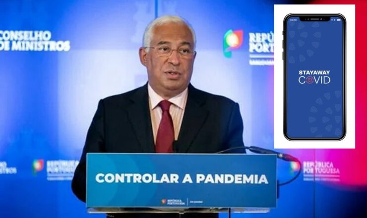 António Costa at PS Combate-à-pandemia stay away covid em ps