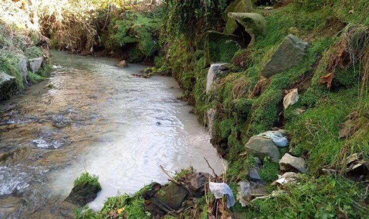 Braga para Todos - rio Este com nova descarga poluente em Ferreiros rec23102020 IMG_3435