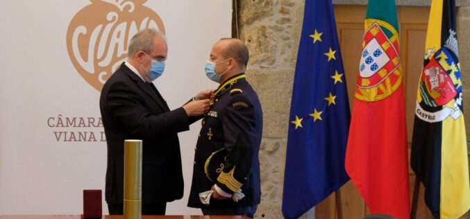 Reconhecimento | Coronel Agostinho Cruz, da GNR, vê ser-lhe atribuída a categoria de Cidadão Honorário de Viana do Castelo