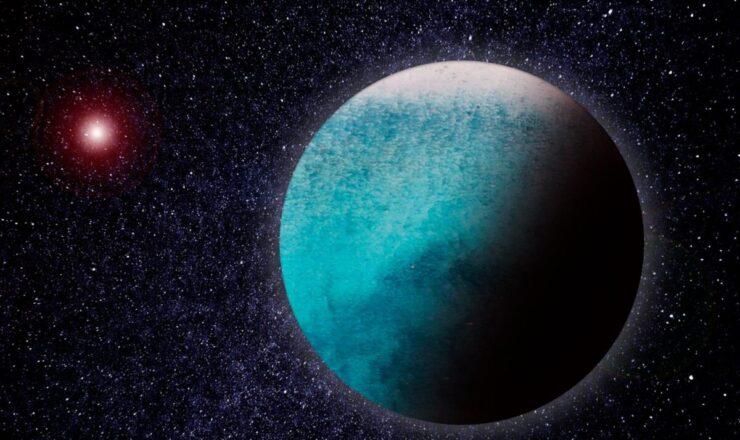 LHS 1140 b exoplaneta aquático astronomia CV