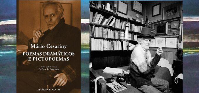 Livros | Em 'Poemas Dramáticos e Pictopoemas' Cesariny revela a síntese perfeita do poeta e do artista plástico