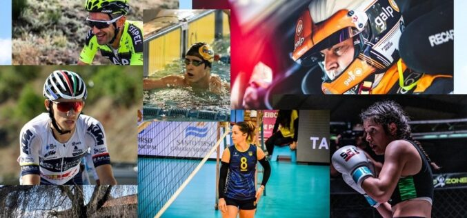 Reconhecimento | André Carvalho, Sofia Oliveira, João Tinoco, Tiago Machado, Tiago Reis e Vanessa Rodrigues disputam prémios desportivos anuais 'O Minhoto'