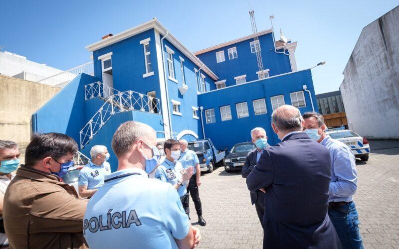 Urbanismo   Póvoa de Varzim conclui reabilitação das instalações da PSP