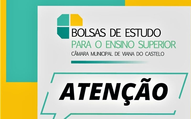 Ensino | Abertas candidaturas a Bolsas de Estudo em Viana do Castelo