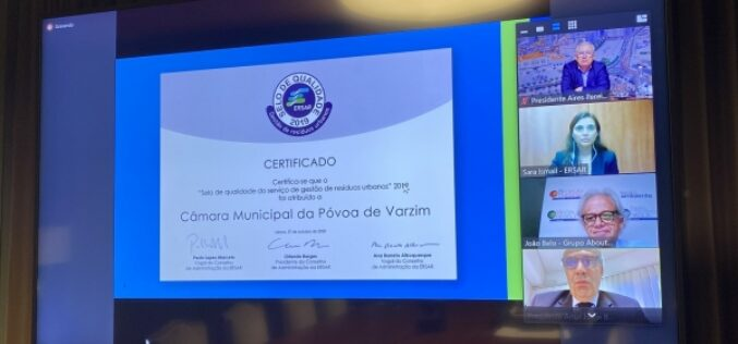 Ambiente | Póvoa de Varzim premiada pela excelência da recolha de resíduos