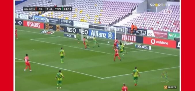 Futebol | Gil Vicente empata 1-1 com Tondela