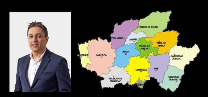 Administração | Ricardo Costa sugere Comunidade Intermunicipal do Distrito de Braga