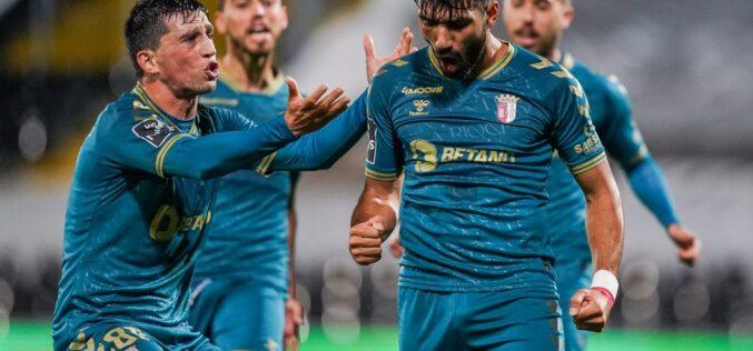 Futebol | Braga vence Vitória em Guimarães: 0-1